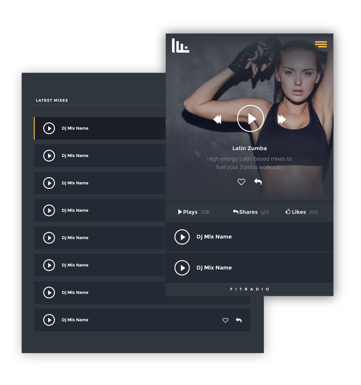 Become a Fit Radio DJ | Top Workout Music App